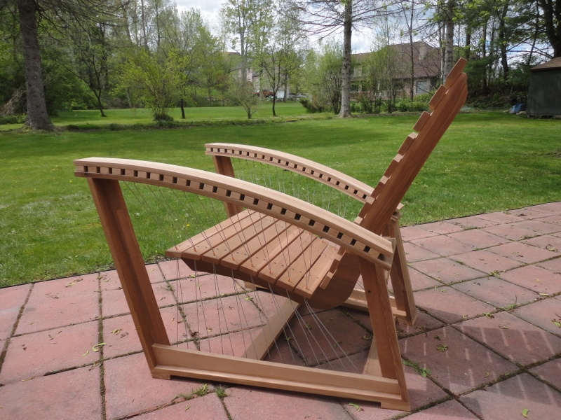 DIY Modern Adirondack Chair Plan Wooden PDF Best Wood For Wood Carving Savo
